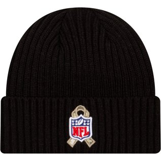 New Era Green Bay Packers Salute To Service 2020 Beanie Knit Hat