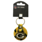 Aminco Green Bay Packers Rubber Swirl Keychain