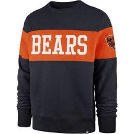 '47 Brand Chicago Bears Men's Interstate Crew Sweatshirt