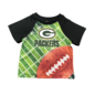 Gerber Childrenswear Green Bay Packers Infant Sublimation Poly Short Sleeve Tee