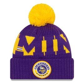 New Era Minnesota Vikings 2020 Onfield Knit Hat