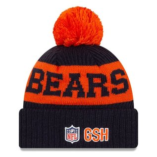 New Era Chicago Bears 2020 Onfield Knit Hat