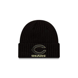 New Era Chicago Bears Salute To Service 2020 Beanie Knit Hat