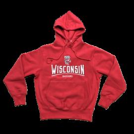 Signature Concepts Wisconsin Badgers Men's Beacon Hill Hoodie