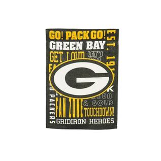 Green Bay Packers Fan Rules Two Sided  Garden Flag