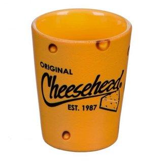 Evergreen Enterprises Green Bay Packers Cheesehead Ceramic Shot Glass