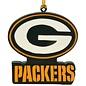 Evergreen Enterprises Green Bay Packers Mascot G Logo Ornament