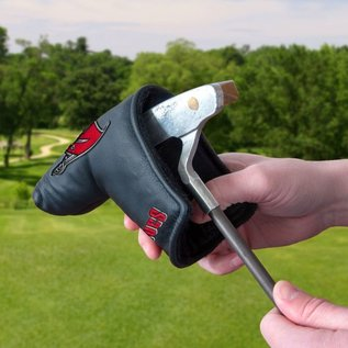WinCraft, Inc. Wisconsin Badgers Black Blade Putter Cover