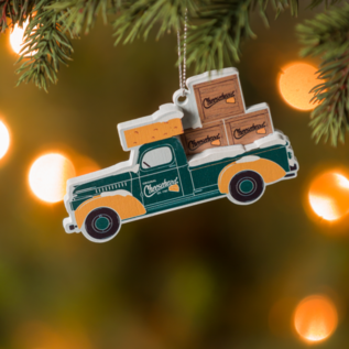 Green Bay Packers Cheesehead Truck Ornament