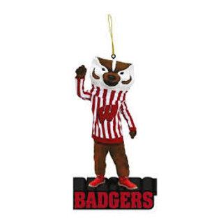 Evergreen Enterprises Wisconsin Badgers Mascot Statue Ornament