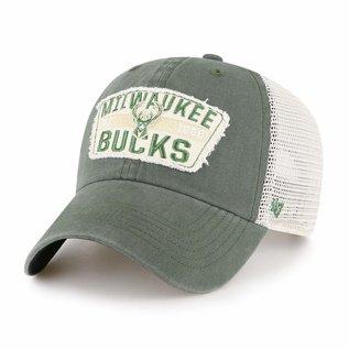 Milwaukee Bucks 47 Crawford Clean Up Snap Back Adjustable Hat