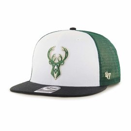 Milwaukee Bucks 47 Gambino Captain Flatbill Snapback Adjustable Hat