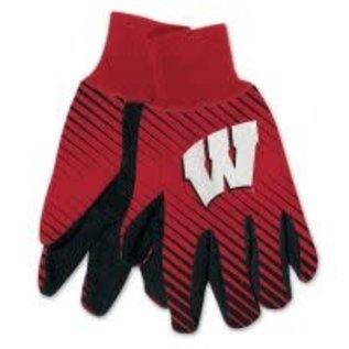 WinCraft, Inc. Wisconsin Badgers Adult Two Tone  Gloves