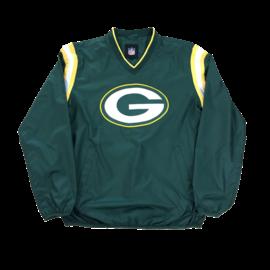 G III Green Bay Packers Men's Bullpen Windbreaker
