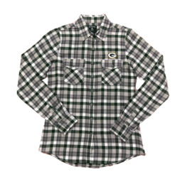 Green Bay Packers Women's Instinct Flannel Shirt