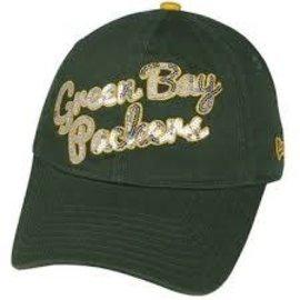 New Era Green Bay Packers Womens 9-40 Glitzmark Hat