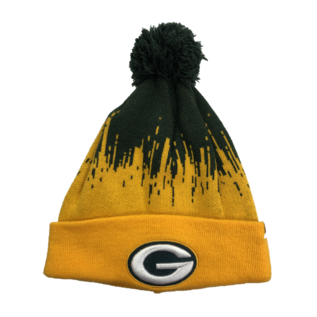 '47 Brand Green Bay Packers Riser Cuffed Knit Hat