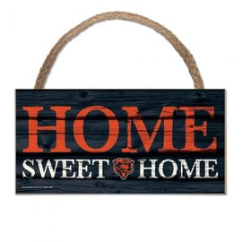 WinCraft, Inc. Chicago Bears Wood Home Sweet Home Sign