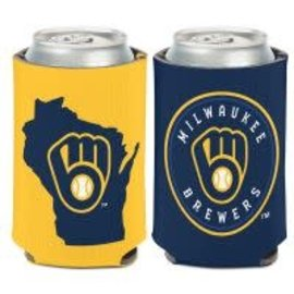 WinCraft, Inc. Milwaukee Brewers Can Cooler with State