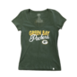 '47 Brand Green Bay Packers Women's Bring The Noise Short Sleeve Tee