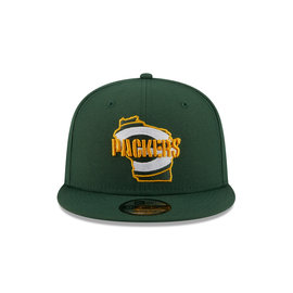 New Era Green Bay Packers 9-50 Local Adjustable Hat