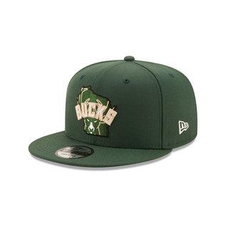 New Era Milwaukee Bucks 9-50 Local Adjustable Hat