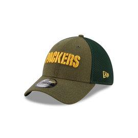 New Era Green Bay Packers 39-30 Heathered Neo Hat