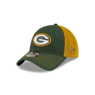 New Era Green Bay Packers 9-20 Team Fronted Adjustable Hat
