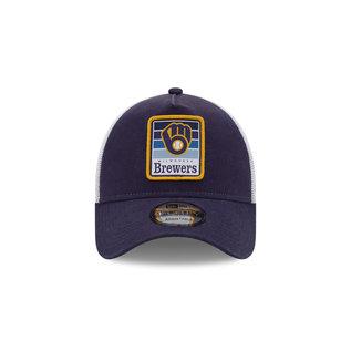 New Era Milwaukee Brewers 9-40 Gradient Adjustable Hat