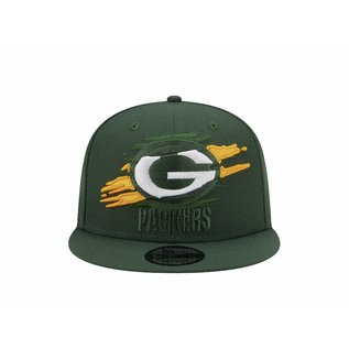 New Era Green Bay Packers 9-50 Logo Tear Adjustable Hat