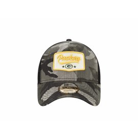 New Era Green Bay Packers 9-40 Camo Patch Adjustable Hat