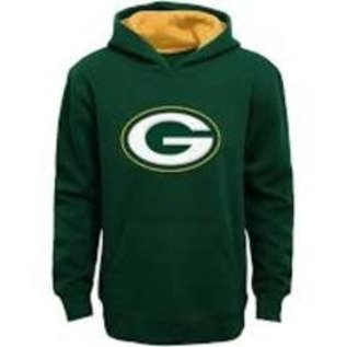 Outerstuff Green Bay Packers Youth Prime Pullover Hoodie