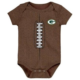 Outerstuff Green Bay Packers Football Creeper