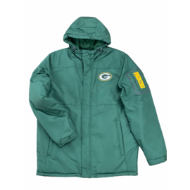 G III Green Bay Packers Men's Winter Jacket With Side Arm Pocket