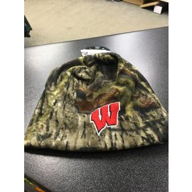 Wisconsin Badgers Camo Beanie Hat