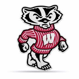 Rico Industries, Inc. Wisconsin Badgers Shape Cut Mascot Pennant