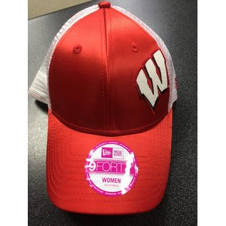 New Era Wisconsin Badgers Womens 9-40 Team Glitzer Hat