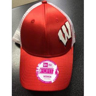 New Era Wisconsin Badgers Womens 9-40 Team Glitzer Hat