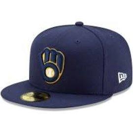 New Era Milwaukee Brewers 59Fifty Onfield Home  Hat