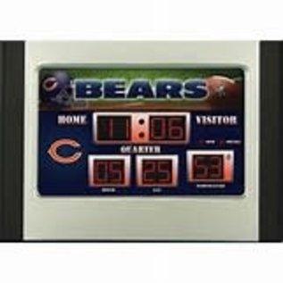 Evergreen Enterprises Chicago Bears Scoreboard Alarm Clock