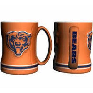 Boelter Brands LLC Chicago Bears 15 oz Orange Sculpted Relief Mug
