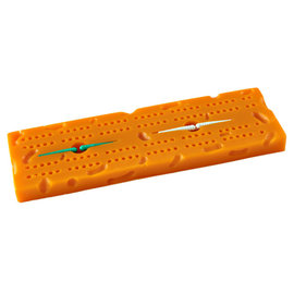 Green Bay Packers Cheese Cribbage Board