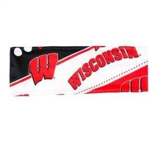 Little Earth Wisconsin Badgers Stretch Headband