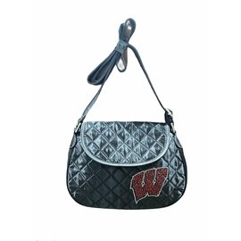Little Earth Wisconsin Badgers Quilted Purse