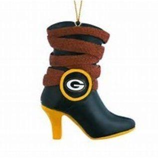 Evergreen Enterprises Green Bay Packers Team Boot Ornament