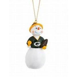 Evergreen Enterprises Green Bay Packers Jock Frost Snowman Ornament