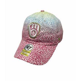 '47 Brand Milwaukee Brewers Youth '47 Rainbow Groovy Adjustable Hat