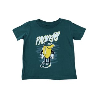 Outerstuff Green Bay Packers Infant Born Awesome Short Sleeve Tee