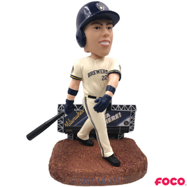 Forever Collectibles Milwaukee Brewers Yelich Scoreboard Bobblehead