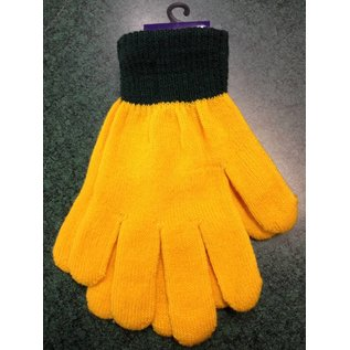 Green Bay Packers Yellow Liner Gloves